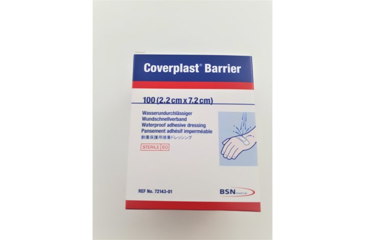 Coverplast Barrier 100 stk. (2,2 cm x 7,2 cm)